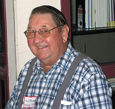 Bill at Reunion 2005