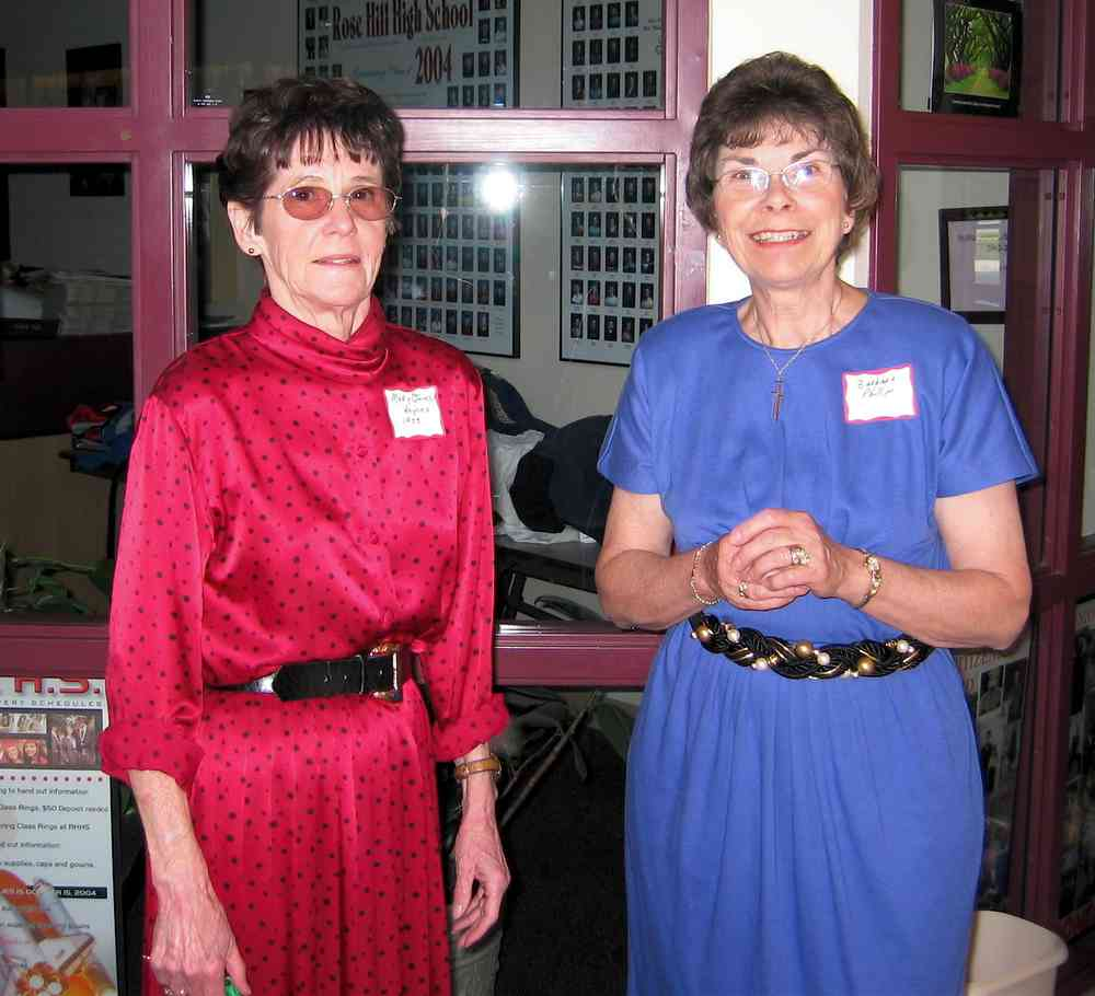 Mary Rogers and Barbara Phillips.