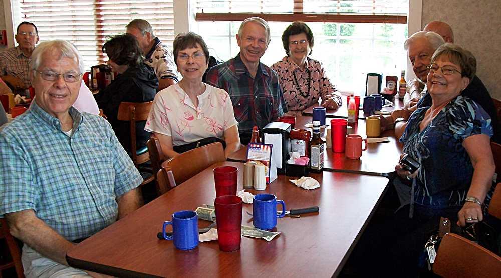 Richard, Barbara & Jack, Cecila & Ray, Chuck & Juanita.